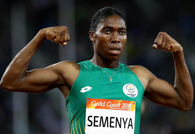 Rediff Sports - Cricket, Indian hockey, Tennis, Football, Chess, Golf - Sports Shorts: IAAF wants Semenya to lower testosterone level