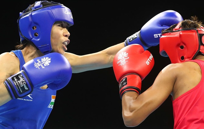 Mary Kom in final; 3 men in semis as boxers continue march at CWG