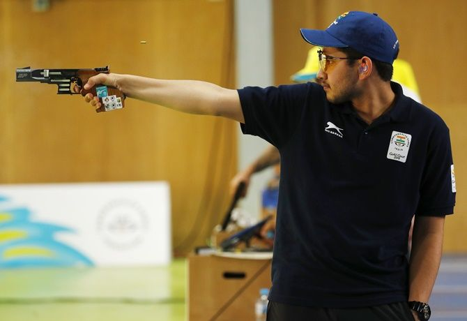 'Anish's chances will only increase if he shoots a good score in the World Cup in March-April 2021'