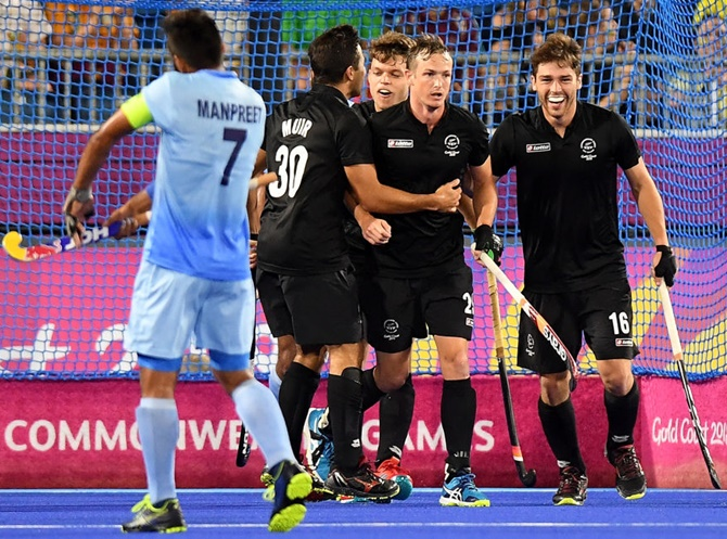 India lose to New Zealand in men's hockey semis