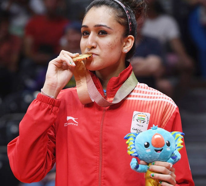 Sensational Manika Batra wins historic singles gold in TT
