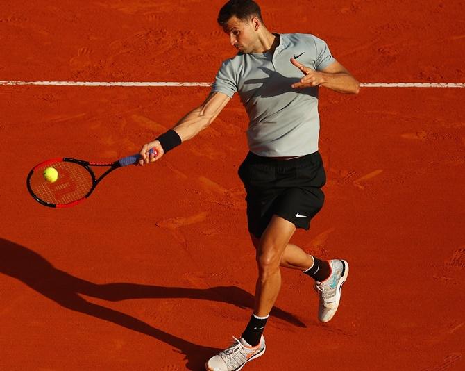 Dimitrov, Thiem survive early scares in Monte Carlo - Rediff.com