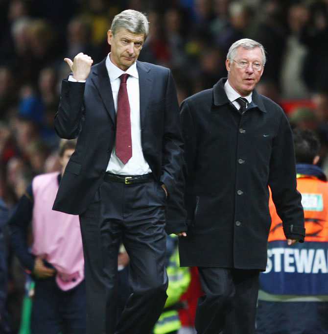 Wenger 'one of the greatest managers', says Ferguson