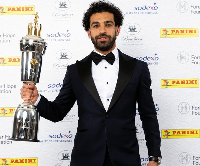 Salah wins English PFA Player of the Year award