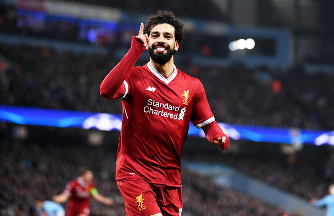 Mohamed Salah has scored more goals than Lionel Messi and Cristiano Ronaldo this season