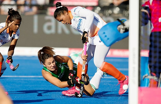 Women's Hockey WC: India lose to Ireland via shoot off