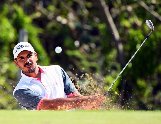 Golf round-up: Bhullar in sole lead in Fiji; Aditi makes cut at British Open