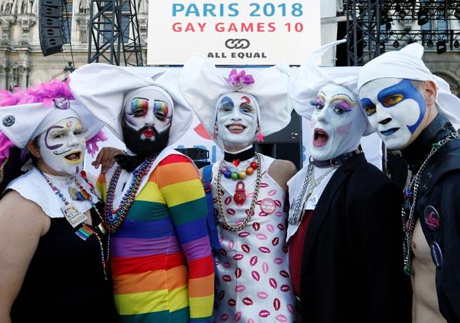PHOTOS: Paris hosts Gay Games