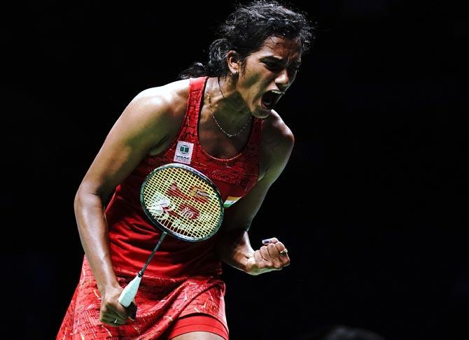 Rediff Sports - Cricket, Indian hockey, Tennis, Football, Chess, Golf - Badminton Tour Finals: Sindhu makes winning start