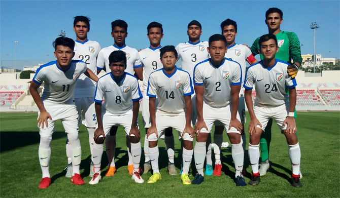 The Indian football Under-16 team