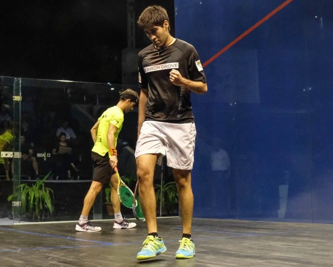From Wall Street to squash: Gamble paying off for Tandon