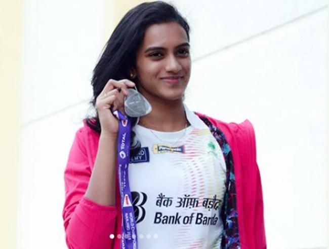 Sindhu slams critics, says silver sparkles