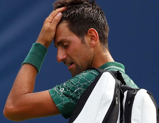 Rogers Cup: Djokovic stunned; Halep dominates Venus