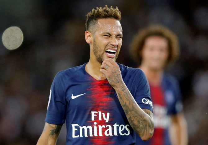 Neymar has scored 51 goals for PSG but both of his seasons in France have been marred by serious injuries at key stages in the campaign. He also had an on-field dispute with teammate Edinson Cavani over penalty taking duties.