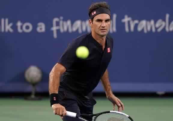 Federer cruises, Tsitsipas falls in Cincinnati