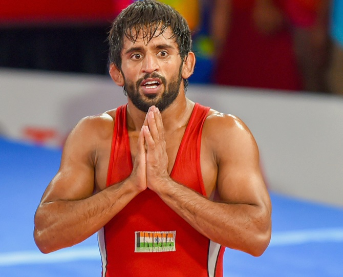 Asian Wrestling: Bajrang keeps calm to reclaim gold