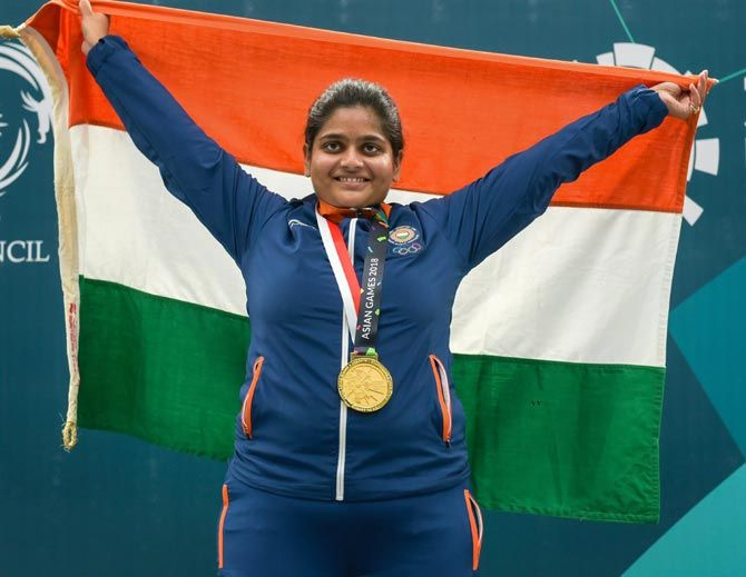 Shooter Rahi Sarnobat is among the 5 athletes who have recovered from COVID-19 and urged to get the first vaccine dose