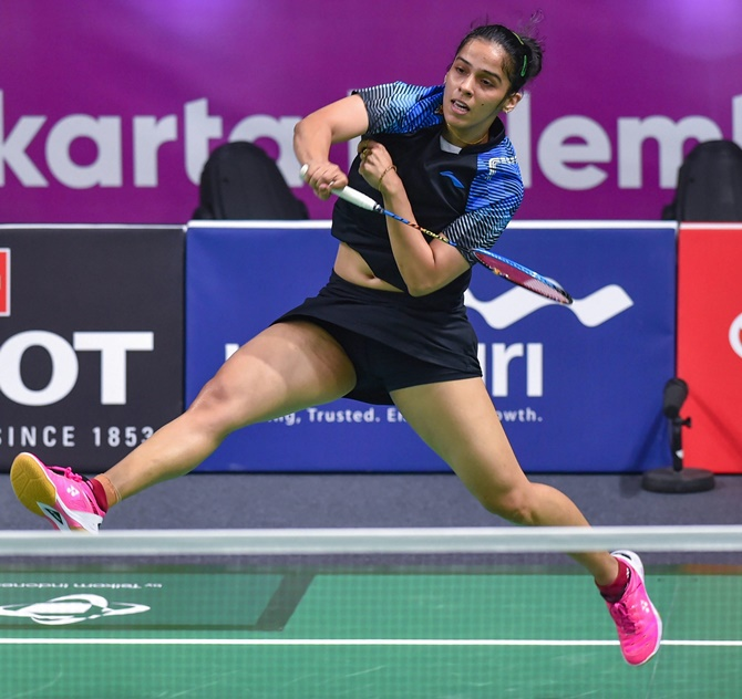 Saina's struggles continue; crashes out of Denmark Open