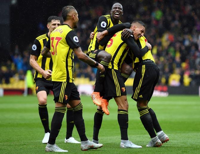 EPL: Chelsea, Watford make it three wins in a row - Rediff Sports