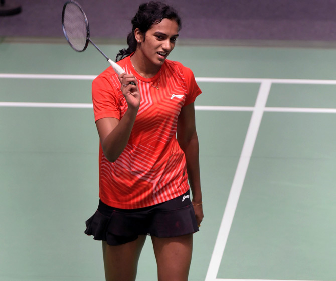 PV Sindhu lost in the opening round tie that lasted 56 minutes