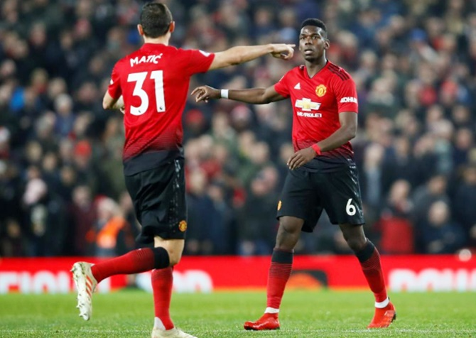 The 26-year-old Paul Pogba was criticised for his poor form earlier this season by former players Gary Neville and Paul Scholes, who work as television pundits, and Ibrahimovic said it stemmed from Pogba's decision to leave United and Ferguson for Juventus