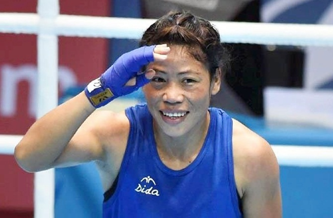 Mary Kom needs just one win to clinch CWG medal
