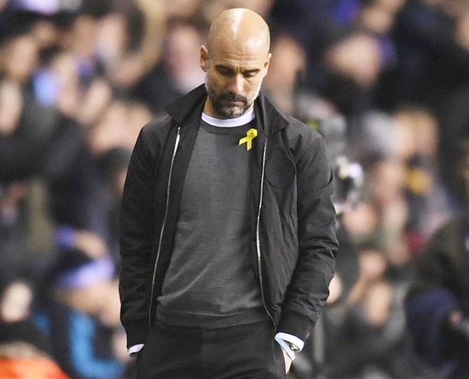 Guardiola will ditch yellow ribbon if...