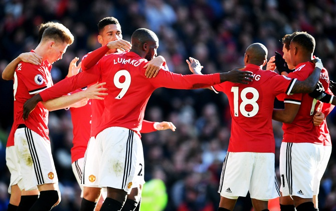 EPL PIX: Lukaku buries old club Chelsea as Man United rally to win