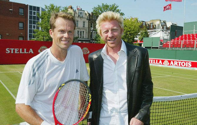 Stefan Edberg and Boris Becker played each other in 4 Grand Slam finals