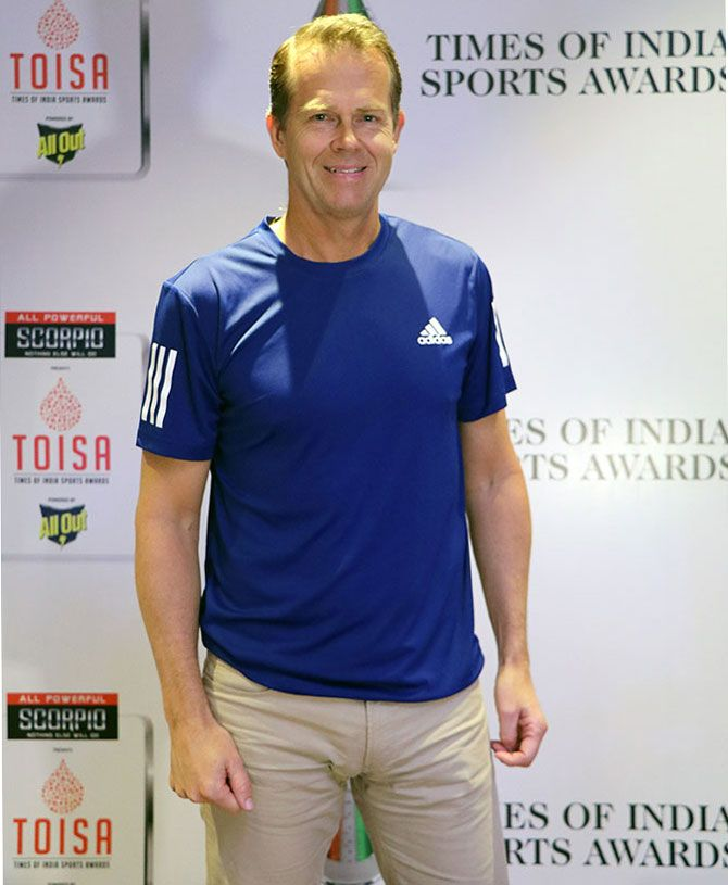 Six-time Grand Slam champion Stefan Edberg is now a successful businessman