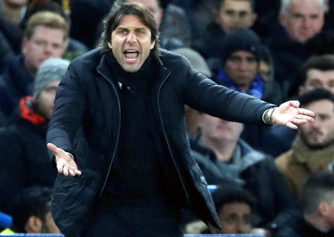 Antonio Conte led Inter Milan to the 2020-21 Serie A title
