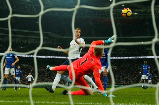 EPL PIX: Kane at the double as Spurs rout Everton; Chelsea draw