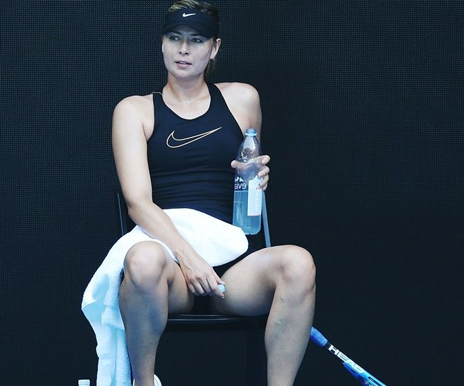 Maria Sharapova is currently ranked 147 after her season was blighted by a shoulder injury