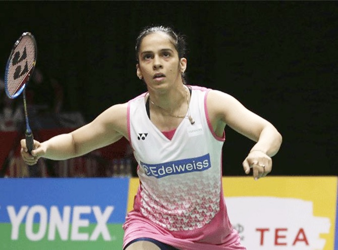 Saina among badminton's top-3 earners