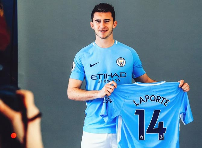 Transfers: City sign Laporte for club-record fee; Giroud joins Chelsea