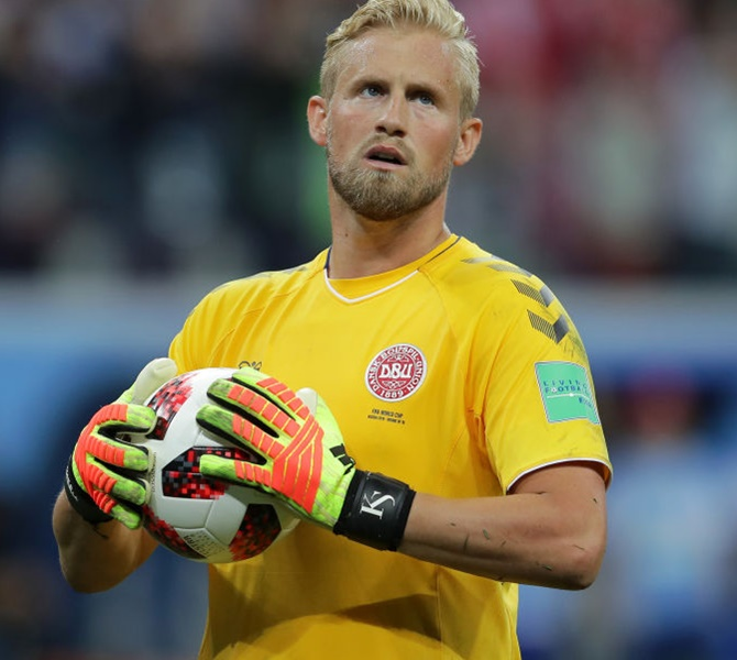 Super Schmeichel proud of Danes despite World Cup shootout loss