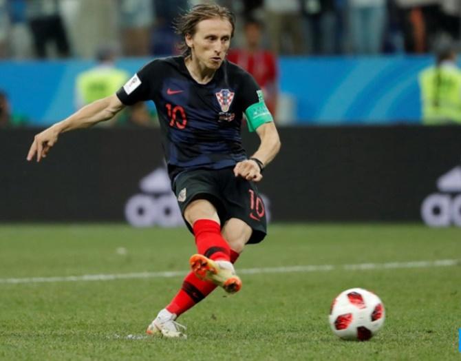Croatia coach praises Modric shootout bravery after miss
