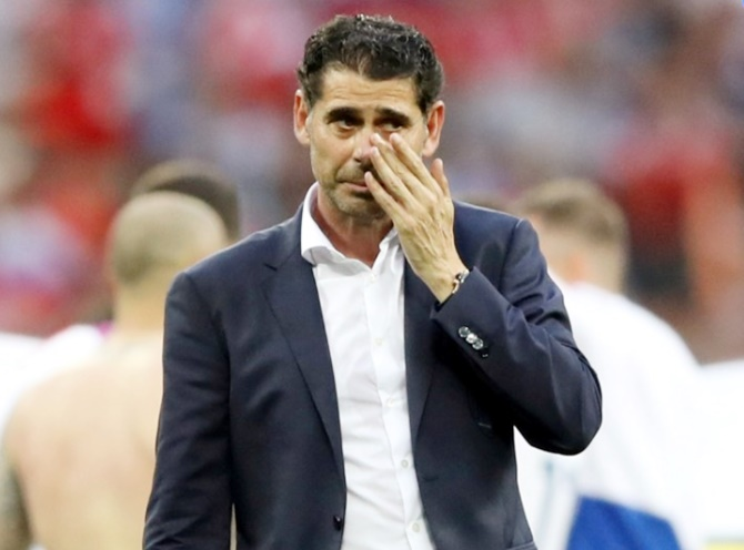 Hierro cuts ties with Spanish federation after World Cup ouster