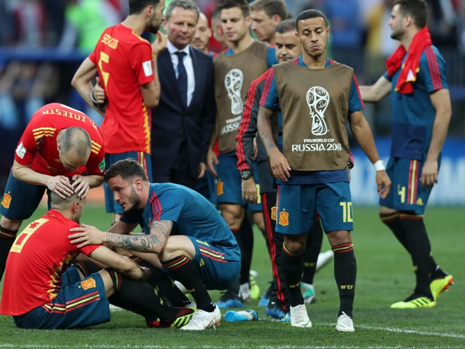 FIFA World Cup: 5 reasons why Spain lost
