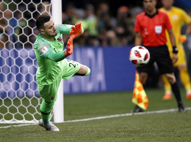 PICS: Croatia down Denmark via penalty shoot-out to make last 8