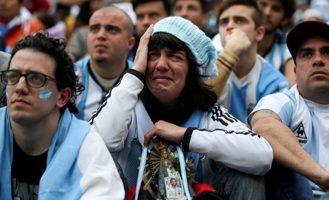 Argentina fans left in Russia wonder what to do