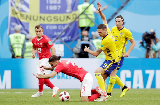 World Cup: 'Swiss too slow and lacked emotion'