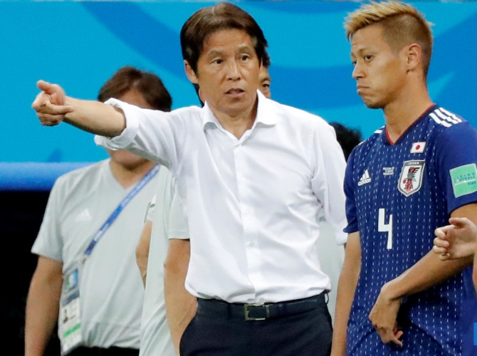 My tactics to blame for loss, says 'devastated' Japan coach