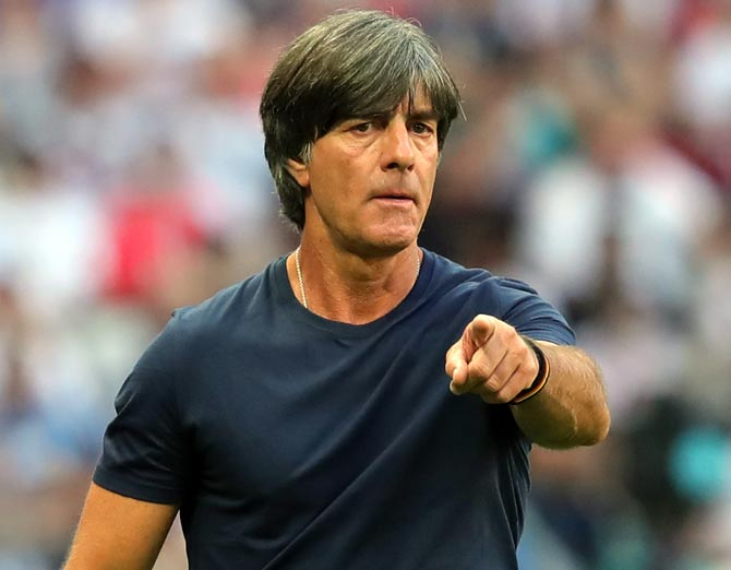Loew to stay on as Germany coach despite World Cup flop