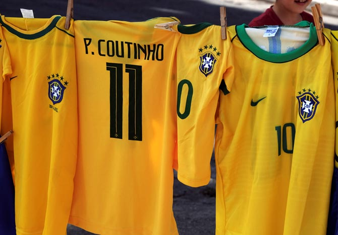 Nike set to beat Adidas in World Cup jersey battle