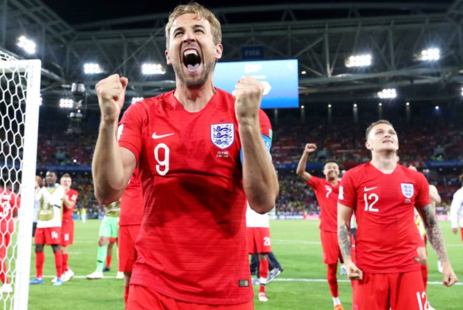 WC PIX: England beat Colombia on penalties to reach quarters