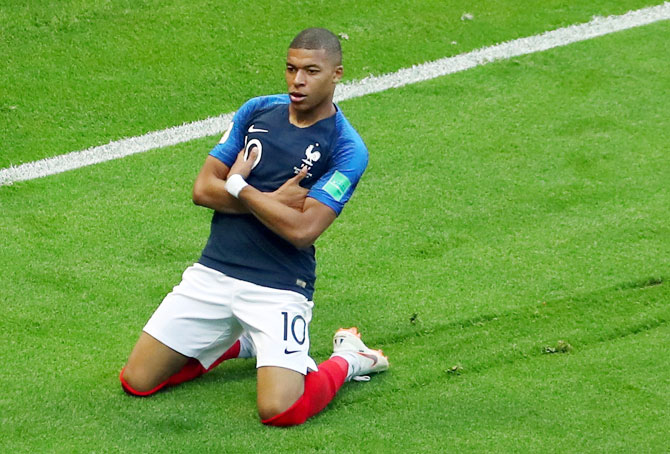 Mbappe in race with Ronaldo, Messi for FIFA player of the year