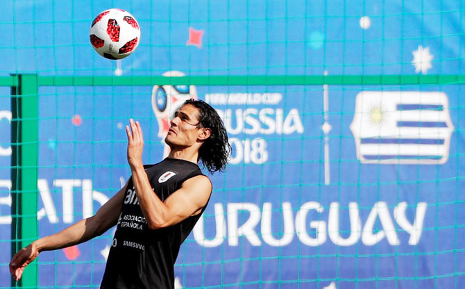Uruguay tight-lipped on Cavani injury before France clash