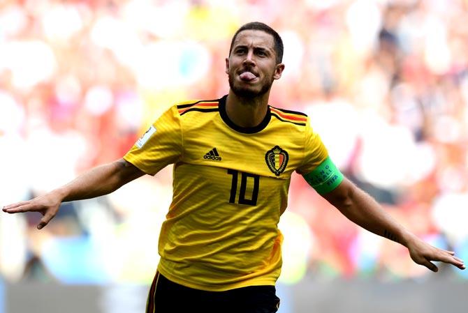 Belgium pin hopes on mercurial talent of Hazard