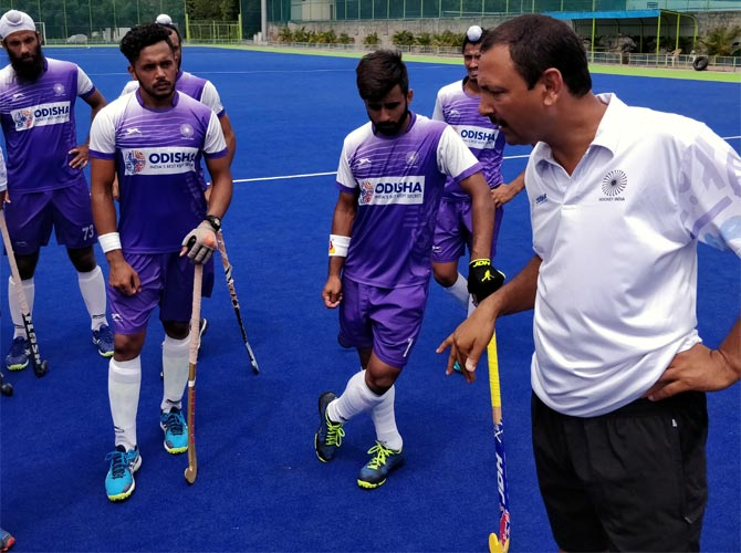 Indian men's hockey coach sacked!